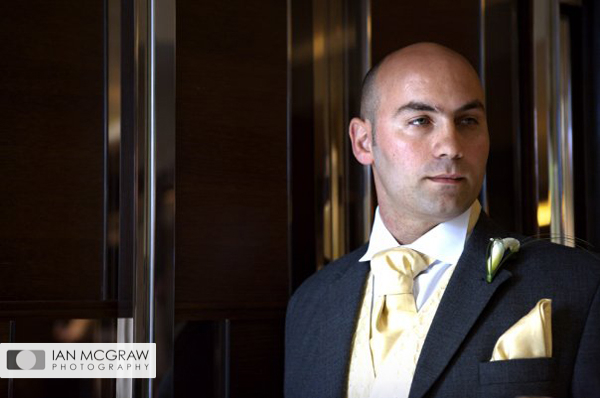 Groom - Chiswick Moran Hotel - Ian McGraw LBIPP