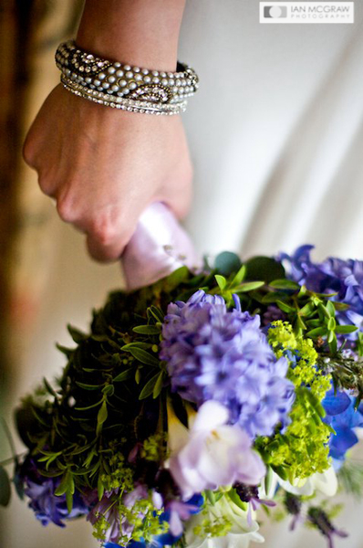 Bride & Bouquet - Petersham Hotel - Ian McGraw LBIPP