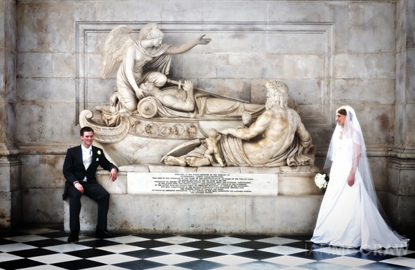 Bride & Groom - St Paul's - London - Ian McGraw LBIPP