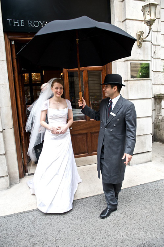 Bride - One Whitehall - London - Ian McGraw LBIPP