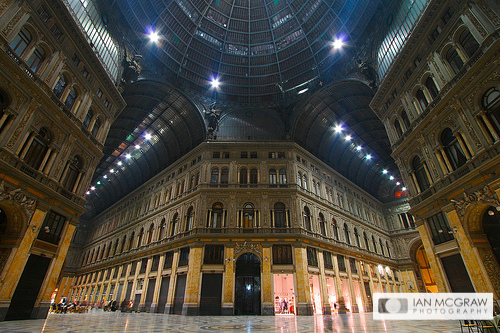 Galleria Umberto Naples - Ian McGraw LBIPP