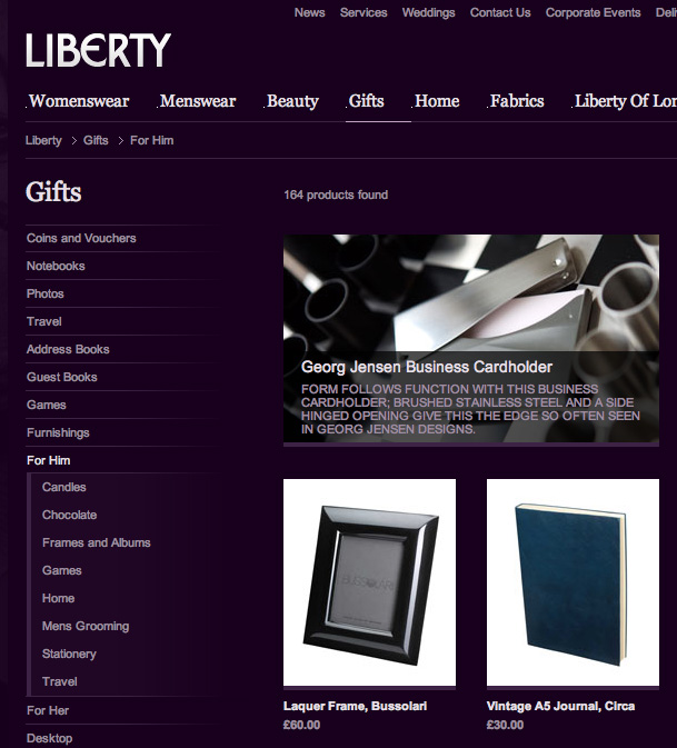 Georg Jensen Card Holder on Chess Board - Client: Liberty Plc
