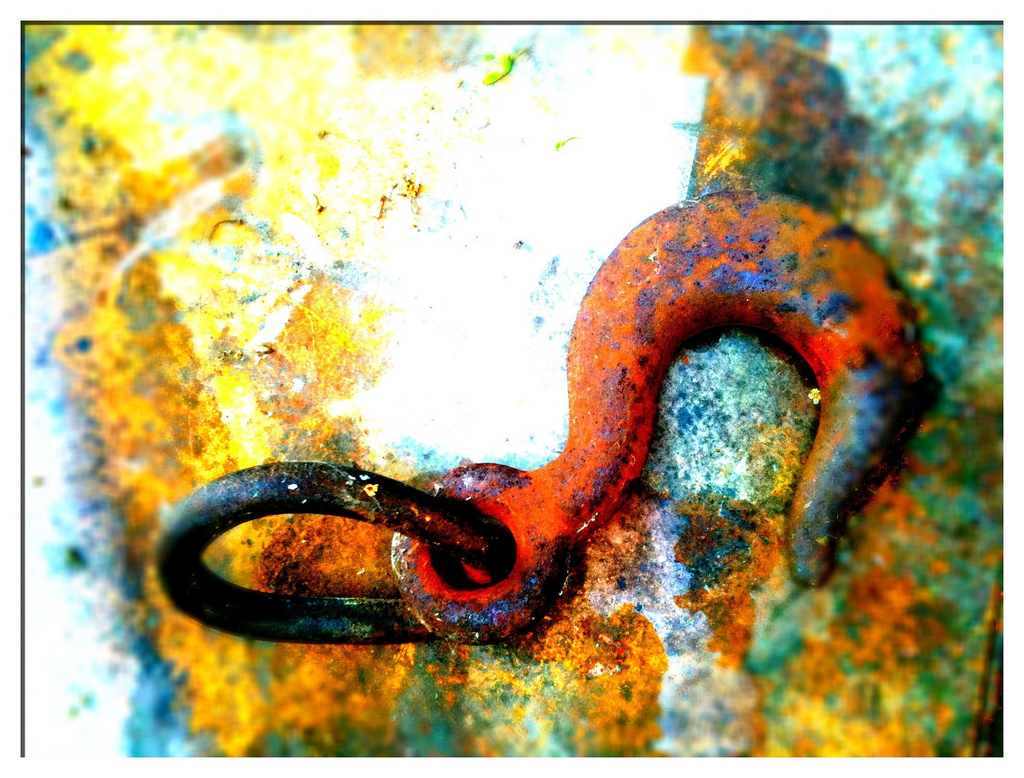 Rusty Hook - by Ian McGraw LBIPP