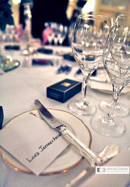VIP Table Setting - Ian McGraw LBIPP